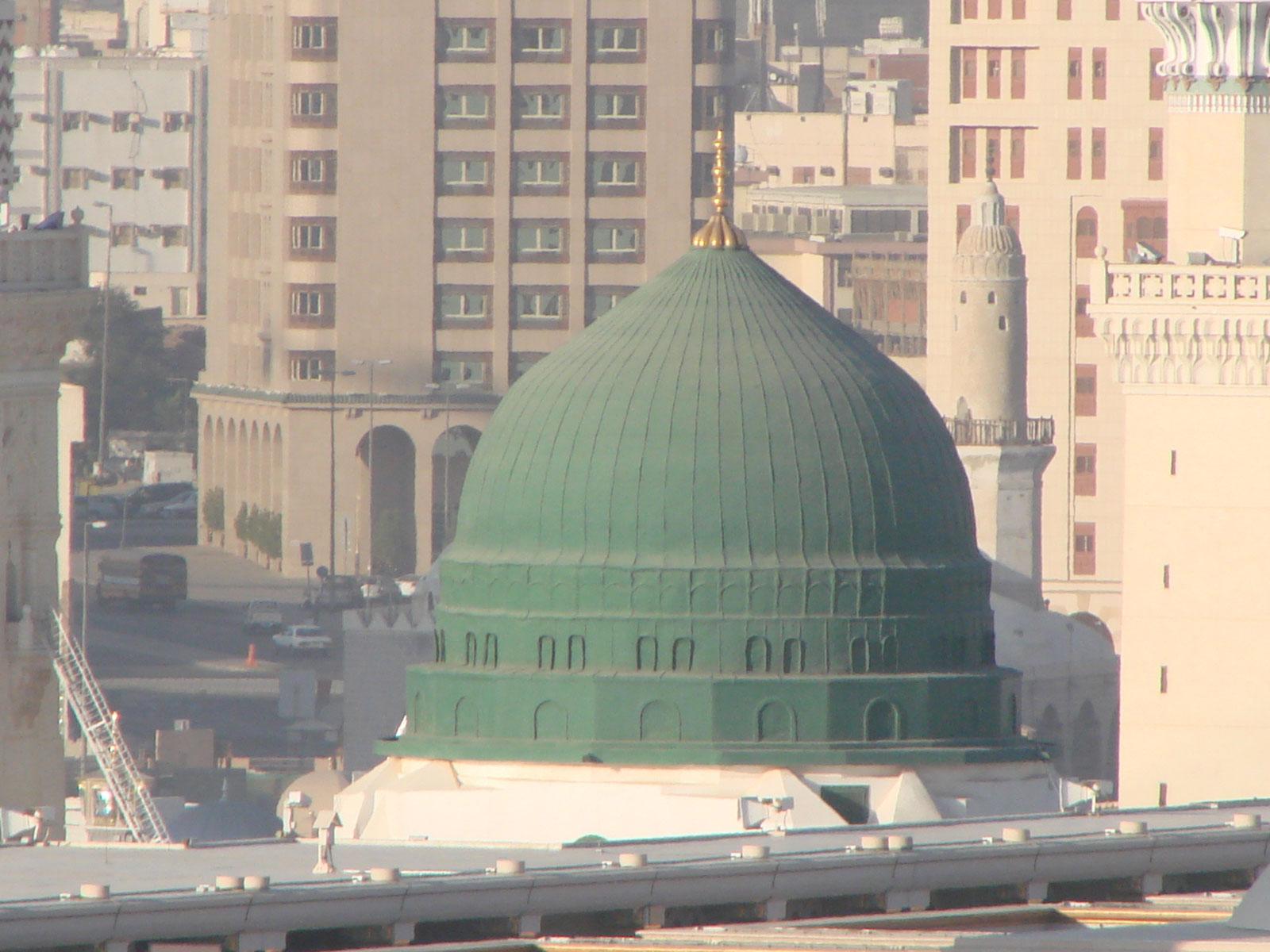 Madina And Makkah Wallpaper