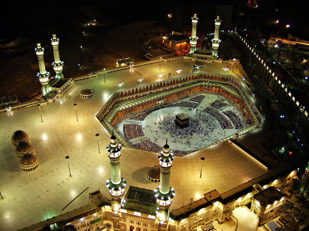 Madina And Makkah Wallpaper